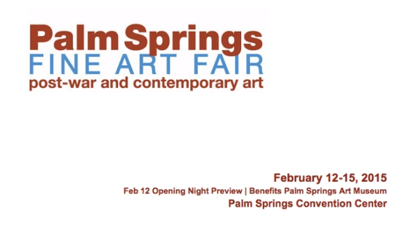 Palm Spring Art Fair 2015